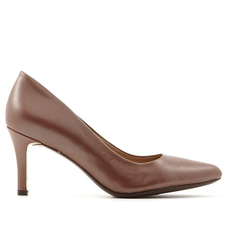 Naturalizer Natalie Leather Pointed-Toe Pump