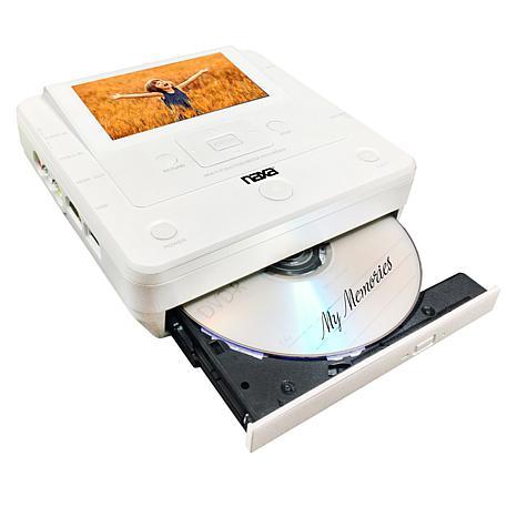 "NAXA Multi-Media Recorder with 4.3"" Screen and 20 Blank Discs"
