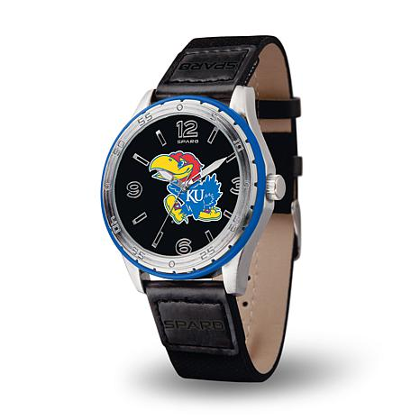 NCAA Players' Embossed Sports Watch - Kansas