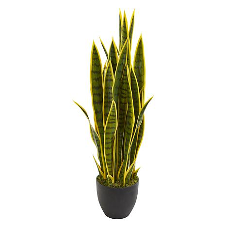 """Nearly Natural 33"""" Sansevieria Artificial Plant"""