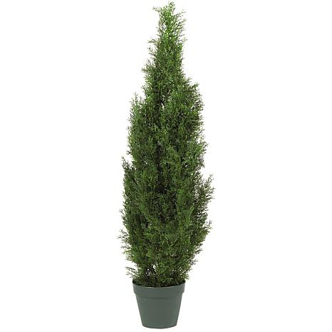 Nearly Natural 4' Cedar Tree Silk Tree