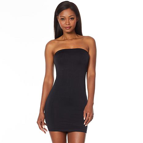 Nearly Nude Seamless Smoothing Strapless Dress