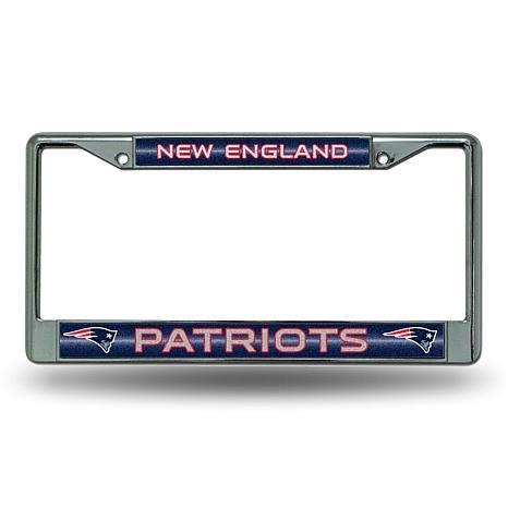NFL Bling Chrome Frame - Patriots