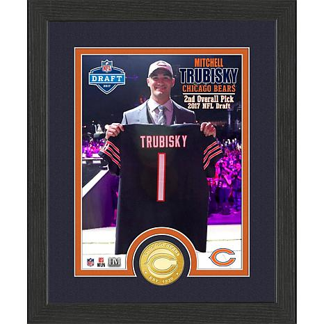 NFL Mitchell Trubisky Draft Day Photo