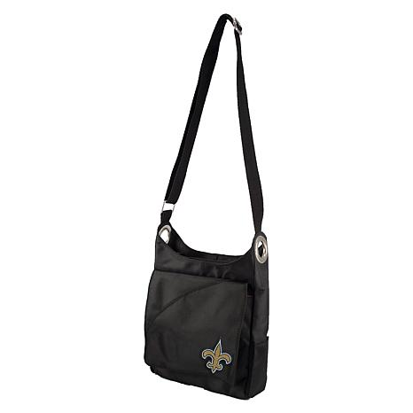 73da60b72f Officially Licensed NFL New Orleans Saints Color Sheen Cross-Body ...