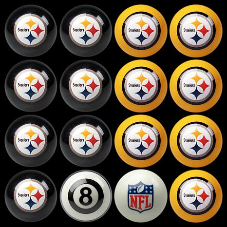 NFL Team-Inspired Set of 16 Billiard Balls