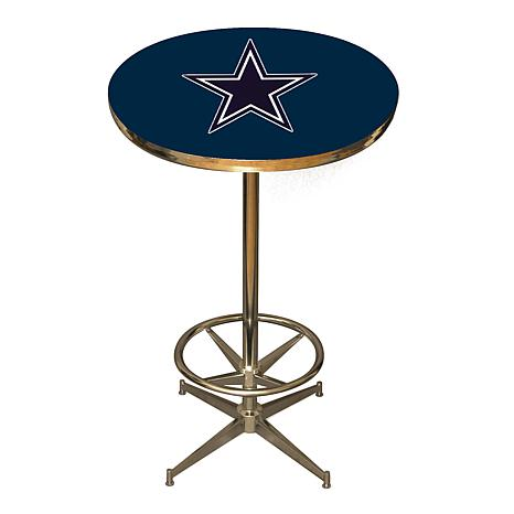 NFL Team Logo Pub Table - Cowboys