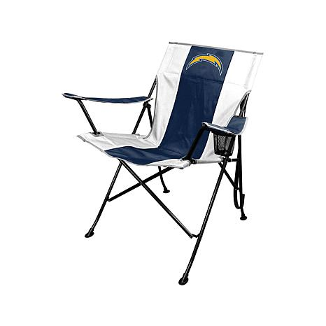 Officially Licensed NFL Team Logo Tailgate Chair And Carry