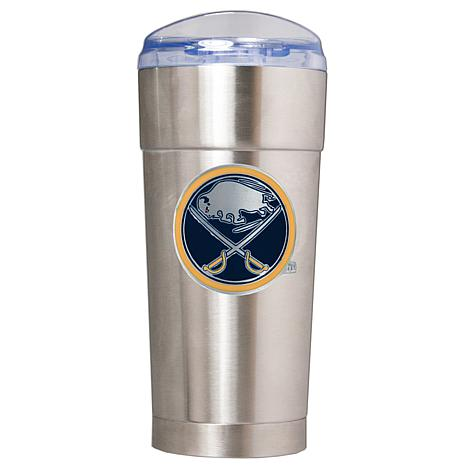 NHL 24 oz. Emblem Stainless Steel Eagle Tumbler - Sabre