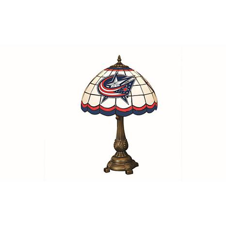 NHL Tiffany-Style Table Lamp - Columbus Blue Jackets