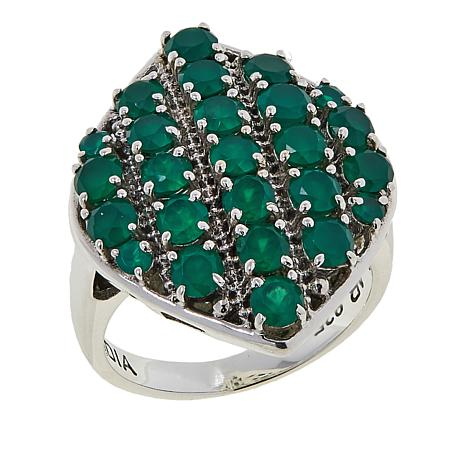 Nicky Butler 2.26ctw Green Chalcedony Sterling Silver Ring