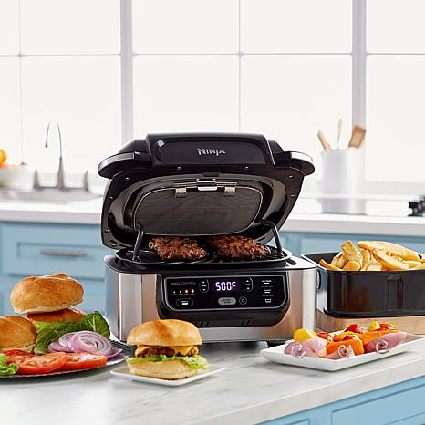 Ninja Foodi 5-in-1 Indoor Grill with Air Fry, Roast, Bake & Dehydrate -  9390160 | HSN