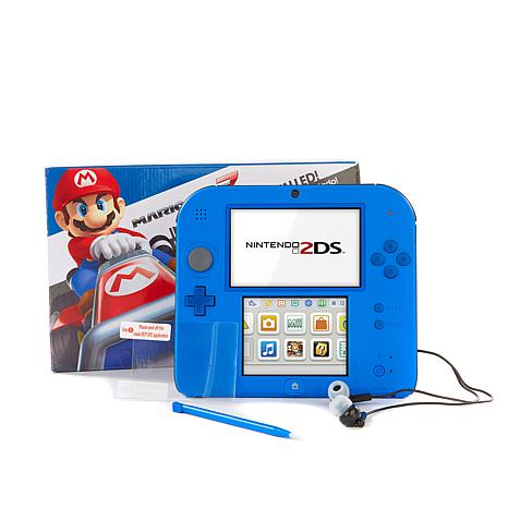 "Nintendo 2DS with ""Mario Kart 7"" and Accessories"