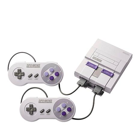 Nintendo Super NES Classic Gaming Console with 21 Games