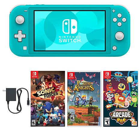 Nintendo Switch Lite  with Games - Turquoise