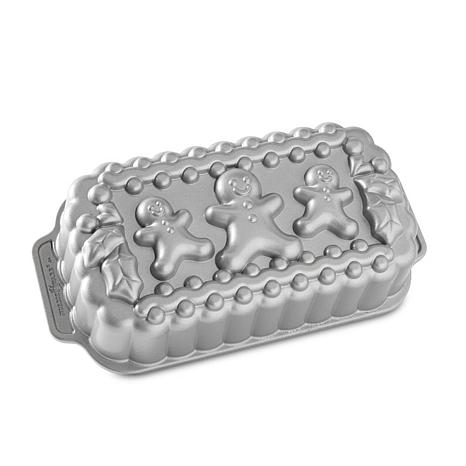 Nordic Ware Gingerbread Family Loaf Pan