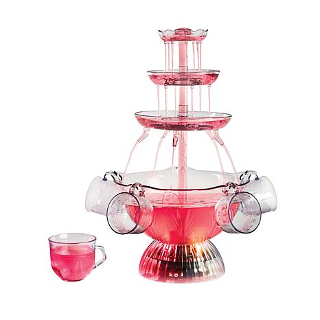 Nostalgia Vintage Collection Lighted Party Fountain