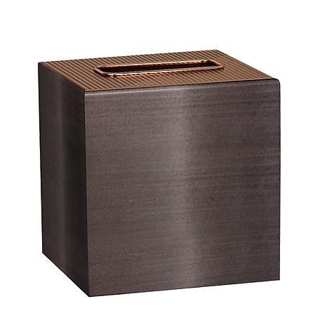 Nu-Steel Selma Oil-Rubbed Bronze Boutique Tissue Holder