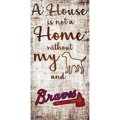 Officially Licensed MLB A House Is Not Home Sign