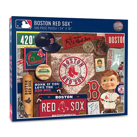 Officially Licensed MLB Boston Red Sox Retro Series 500-Piece Puzzle