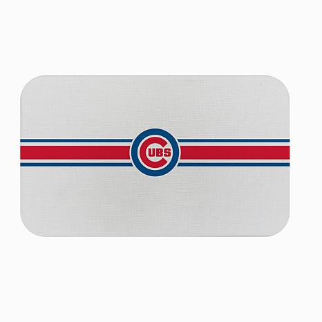 Officially Licensed MLB Burlap Comfort Mat - Chicago Cubs