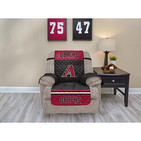 Officially Licensed MLB  Recliner Furniture Protector - Diamondbacks