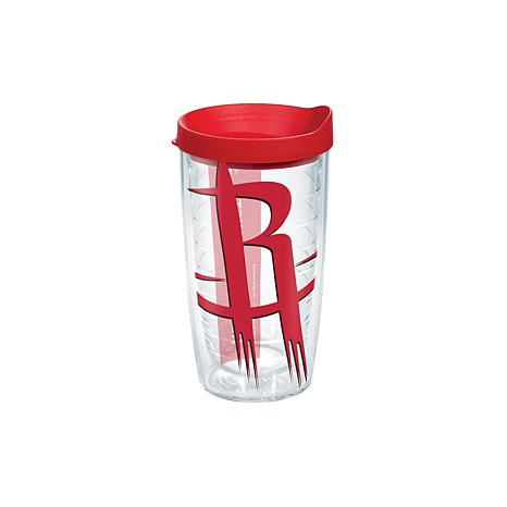 Officially Licensed NBA 16 oz Tumbler and Lid- Houston Rockets