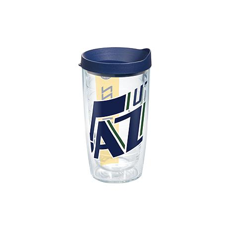 Officially Licensed NBA 16 oz. Tumbler and Lid - Utah Jazz