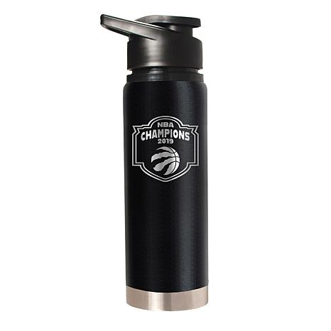 Officially Licensed NBA 2019 Champs 20oz. Stealth Water Bottle