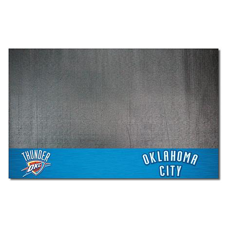 Officially Licensed NBA Vinyl Grill Mat  - Oklahoma City Thunder