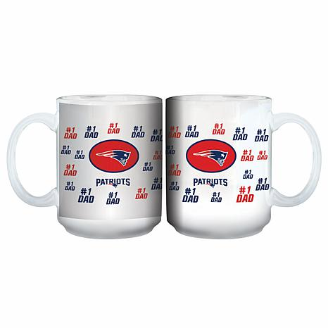 Officially Licensed NFL 15 oz. Father's Day Team Mug -