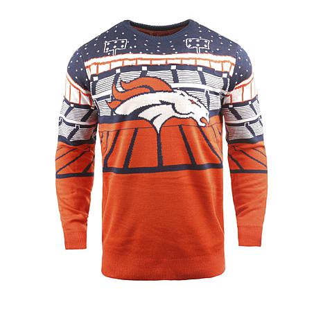 new product 3af86 565da Officially Licensed NFL 2018 Bluetooth Light-Up Sweater by Team Beans -  Broncos