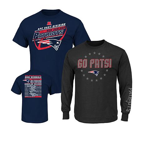 Officially Licensed NFL 3-in-1 T-Shirt Combo by Fanatics - Patriots -  8725523  4c66ad3fd