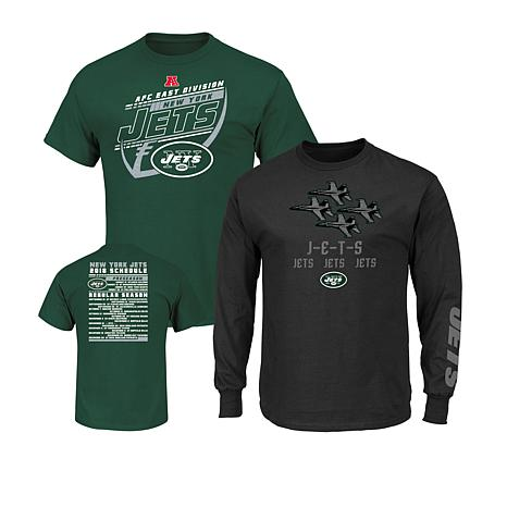 51c379333 Officially Licensed NFL 3-in-1 T-Shirt Combo by Fanatics - Jets - 8725475