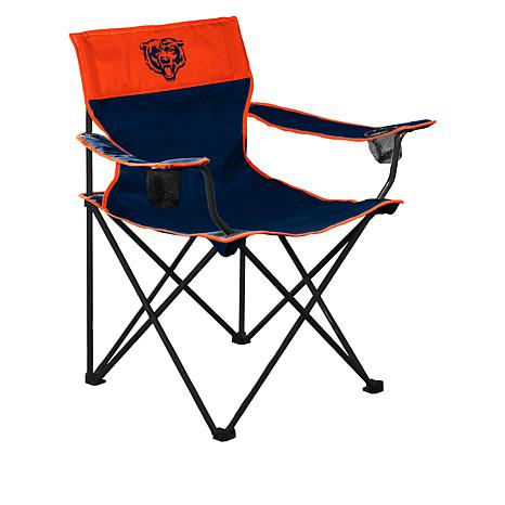 Logo Brands Officially Licensed NFL Quad Chair Team Color