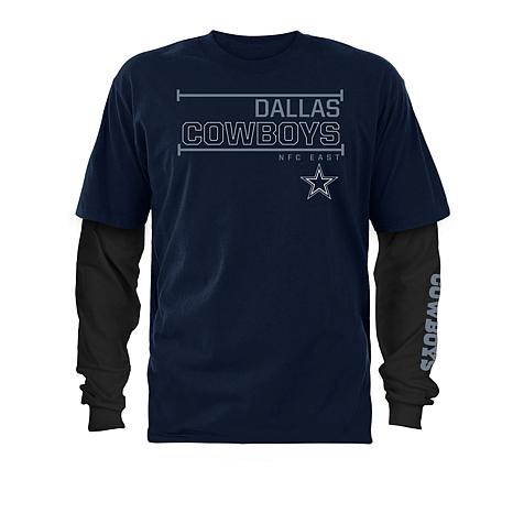 1b85d0337fb Officially Licensed NFL Dallas Cowboys 3-in-1 T-Shirt Combo - 8724953 | HSN