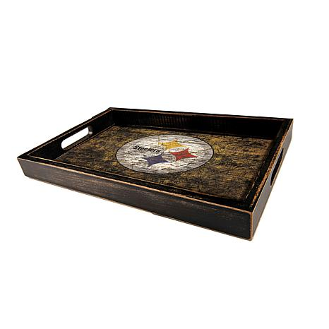 Officially Licensed NFL Distressed Team Tray