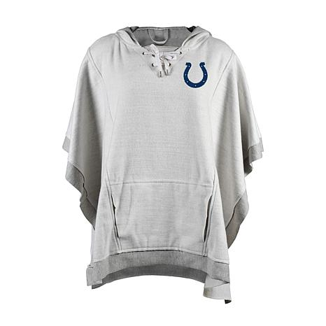 100% authentic c3d6e 60fa1 new! Officially Licensed NFL Heathered Hoodie Poncho - Indianapolis Colts