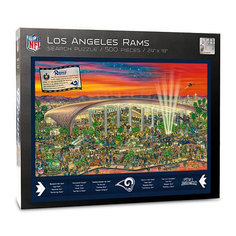 Officially-Licensed NFL Joe Journeyman Puzzle - Los Angeles Rams