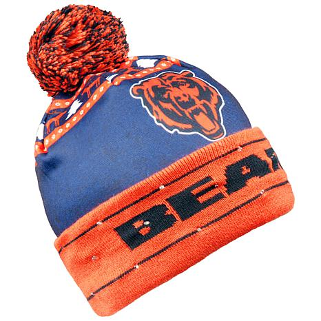 Officially Licensed NFL Light-Up Beanie by Team Beans - Bears ... f76ace8cd53