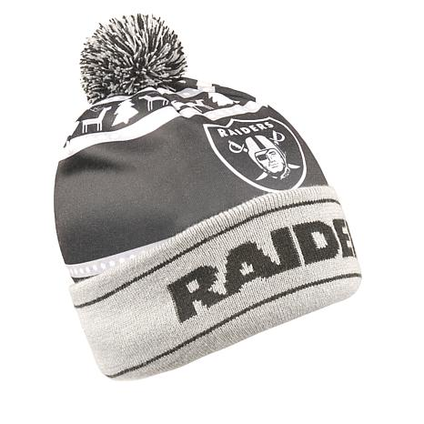 3222ea80c33 Officially Licensed NFL Light-Up Beanie by Team Beans - Raiders - 8714426