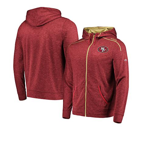 online store a88a3 67cae Officially Licensed NFL Men's Game Elite Full-Zip Hoodie by Fanatics - 49ers