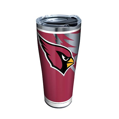 Officially Licensed NFL Rush Stainless Steel Tumbler-Arizona Cardinals
