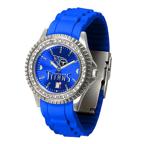 Officially Licensed NFL Sparkle Series  Watch - Tennessee Titans