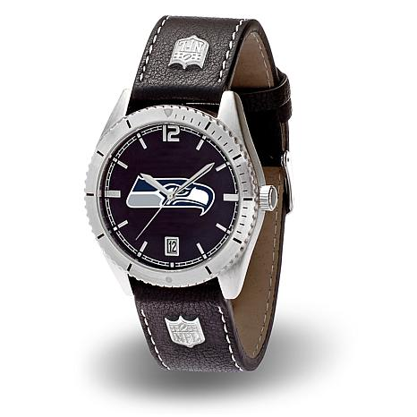 """Officially Licensed NFL Sparo """"Guard"""" Strap Watch - Seahawks"""