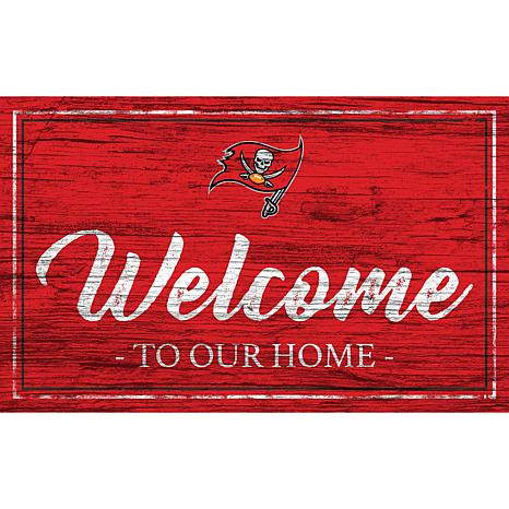 Officially Licensed Nfl Team Color Sign Tampa Bay Buccaneers 9255228 Hsn