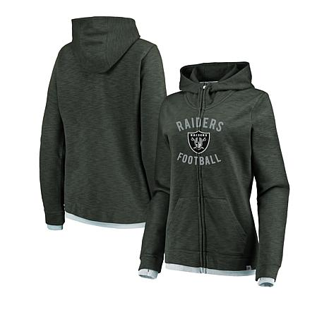 detailed look 7340c 6d1bd Officially Licensed NFL Women's Fandom Full-Zip Hoodie by Fanatics