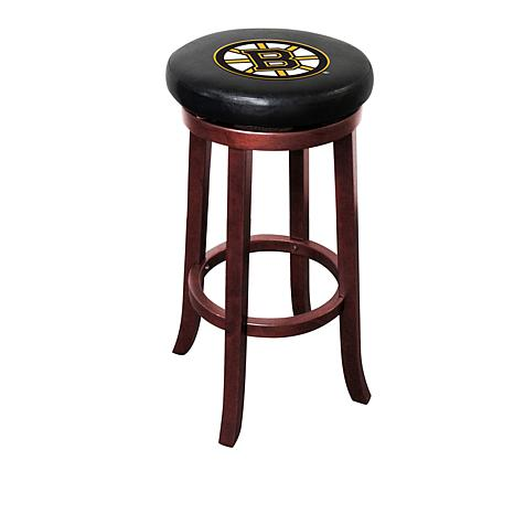 Outstanding Officially Licensed Nhl Wooden Bar Stool Ocoug Best Dining Table And Chair Ideas Images Ocougorg