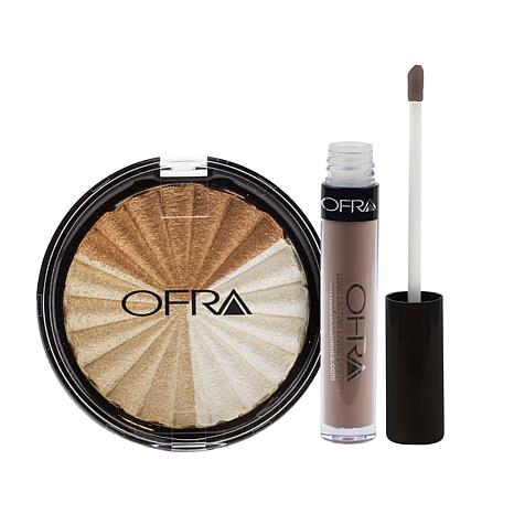 OFRA NikkieTutorials Highlighter/Lip - Everglow/Nude