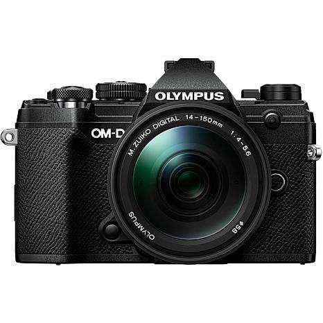 Olympus OM-D E-M5 Mark III Digital Camera with 14-150mm Lens - Black